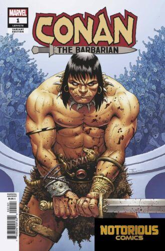 Conan the Barbarian #1 Cassaday Variant 1:10 Marvel Comics 1st Print 01//02