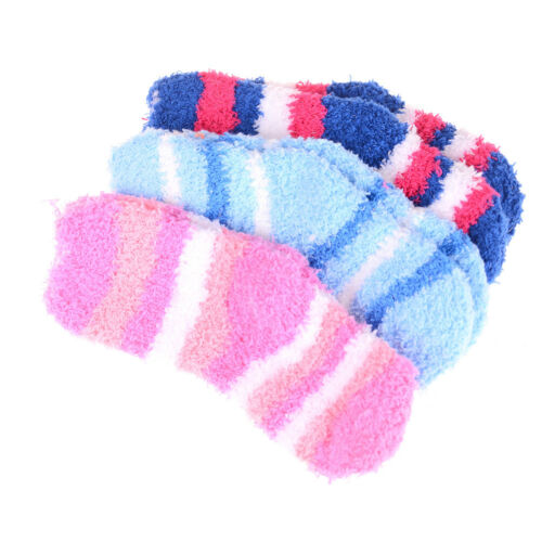Winter Warm Baby Striped Towel Socks Warm socks Kids Towel Thick Socks CN