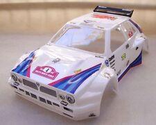 Carrozzeria 1/8 Rally Games GT LANCIA DELTA HF vericiata e ritagliata BIANCA