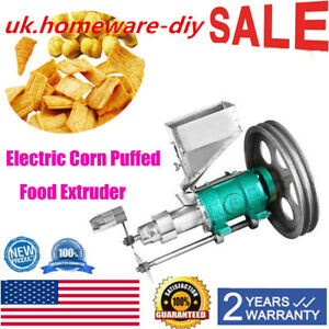 Exquisite electric corn puffed food extruder extruding food puffing