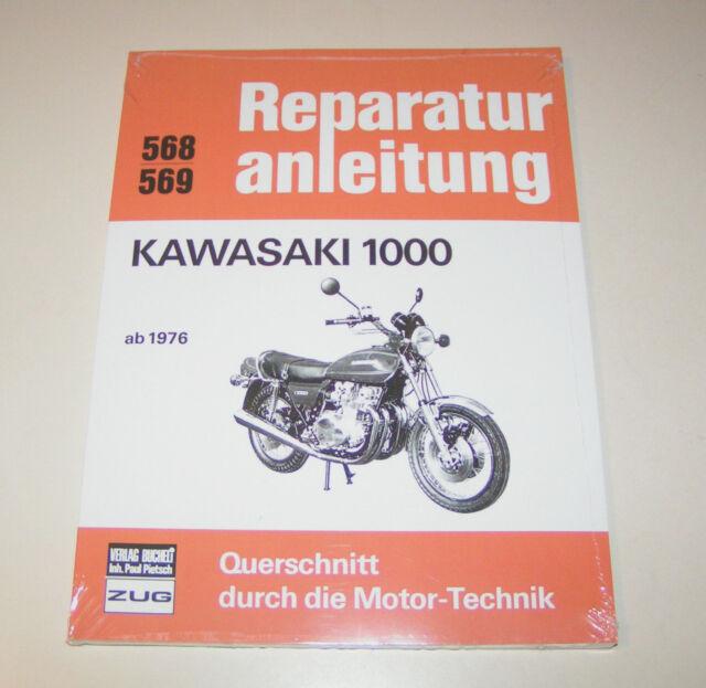 Repair Manual/Manual Kawasaki Z 1000 A1 And A2 - from Year 1976