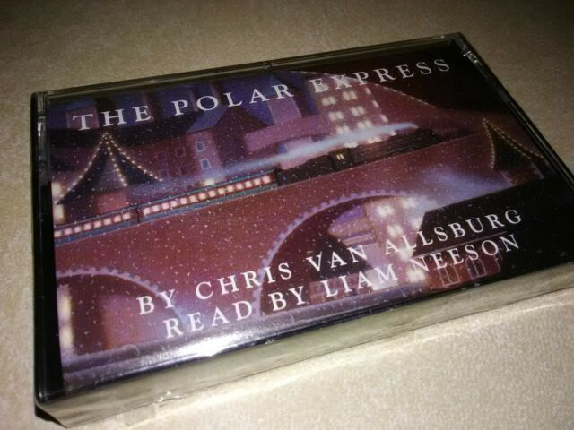 NEW The Polar Express CASSETTE Audiobook Chris Van Allsburg Read by Liam Nielson