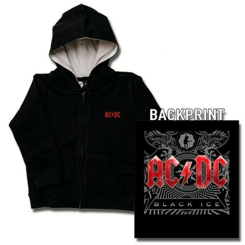 Licensed AC//DC kids hoodie alternative goth rock punk metal baby gift