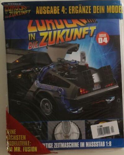 DeLorean desde atrás en el futuroEaglemoss edición 4 en OVP ver la imagen!