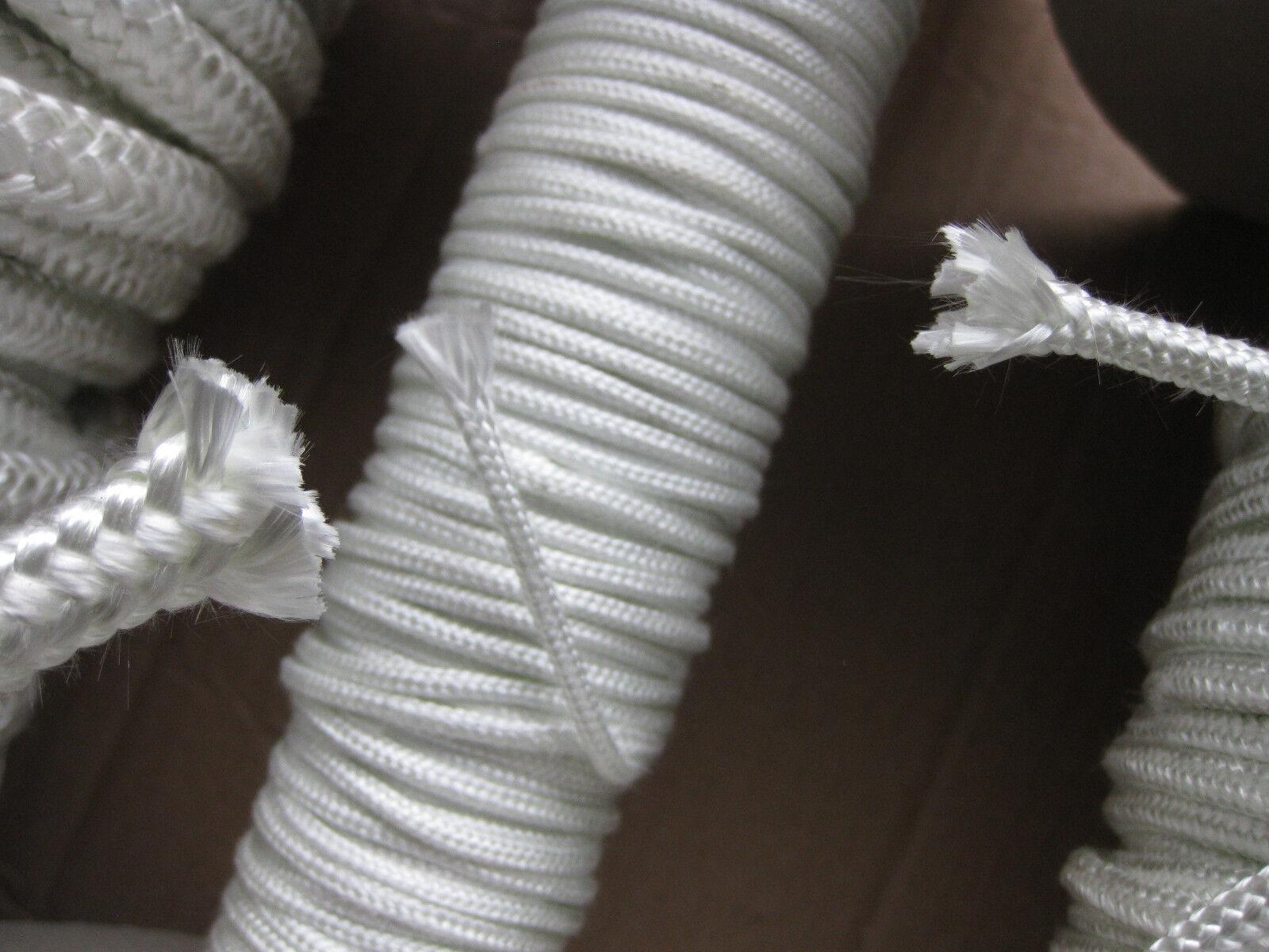 100% Glasfaser Docht reine Glasseide Glaslitze Öllampe Schmelzlicht Öllampe Glaslitze Spiritus 51c492