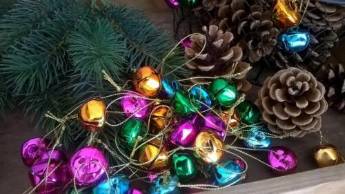 Home Kontor ELNO à tous 50x cloches grelots Décorations Noël Remorque 2x2cm