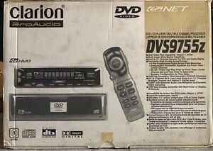 NEW-OLD-SCHOOL-Clarion-Pro-Audio-DVS9755Z-in-dash-CD-DVD-player-RARE-NIB-NOS