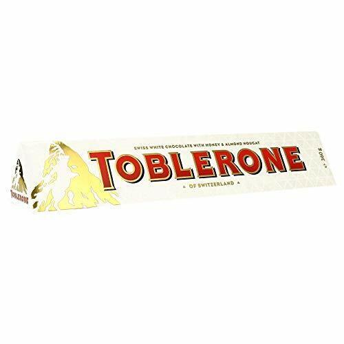 2 X Toblerone White Chocolate Large Giant Bar Gift Swiss Choc 360g