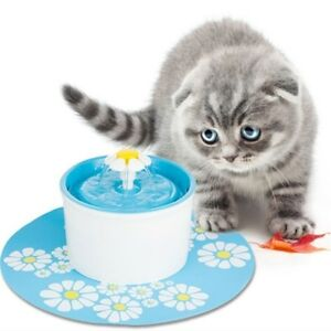 2-Flower-Style-Filter-Fountain-Pet-For-Automatic-Cat-Dog-Water-Drinking-LAC