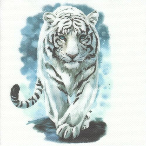 RM445 1 Lunch Papier Serviette Napkin weißer Tiger