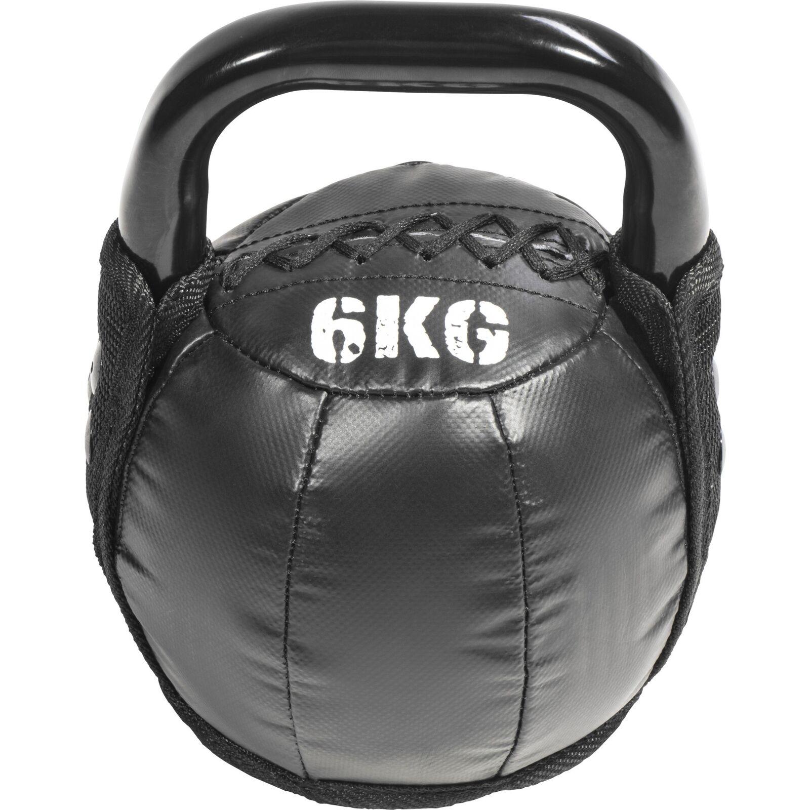 Gorilla Sports Kettlebell Kugelhantel Handgewicht Leder 4-10 4-10 4-10 kg a97261