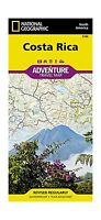 Costa Rica Adventure Travel Map (trails Illustrated) Free Shipping