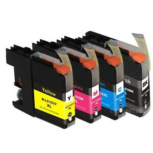 1 pack LC105M ink Cartridge fits  MFC-J4310DW MFC-J4410DW Printer