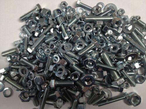 JAGUAR MARK 1-haute résistance zinc plaqué Unf Écrous Boulons Rondelles Quantité 450