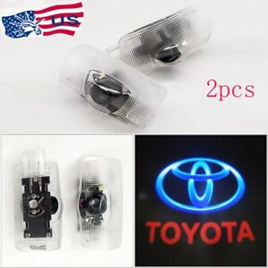 FOR-Toyota-Door-Projector-Car-Logo-LED-Light-Shadow-Lamp-Wireless-Courtesy-Laser