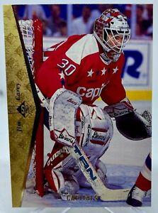 Jim Carey - 1994-95 Upper Deck SP Hockey Card #128 Washington Capitals