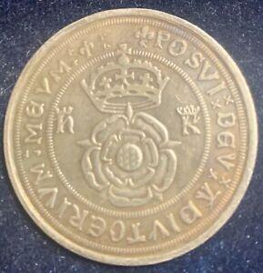 Great Britain Henry VIII Testoon 1544-7 Billon Restrike