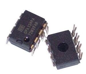 1PCS Burr Brown OPA134PA OPA134 - Mono HiFi Audio OpAmp - New IC