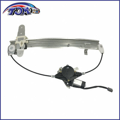 Dorman 741-486 Rear Driver Side Power Window Regulator and Motor Assembly for Select BMW Models