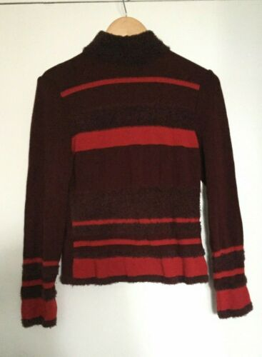 DIKTONS BARCELONA – TEXTURED STRIPED SWEATER – Sz