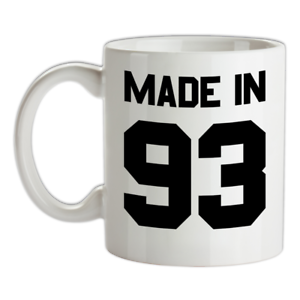 Made-in-039-93-Mug-26th-Compleanno-1993-Regalo-Regalo-26-Te-Caffe
