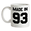 Made-in-039-93-Mug-26th-Compleanno-1993-Regalo-Regalo-26-Te-Caffe miniatura 1