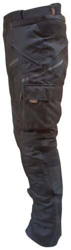 Pantalone Moto in Cordura Altavisibilita Impermiabile Termico Estrabile 3XL 54