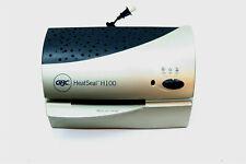 Gbc Heatseal H100 Hot Or Cold Laminator For Photos Badges Etc