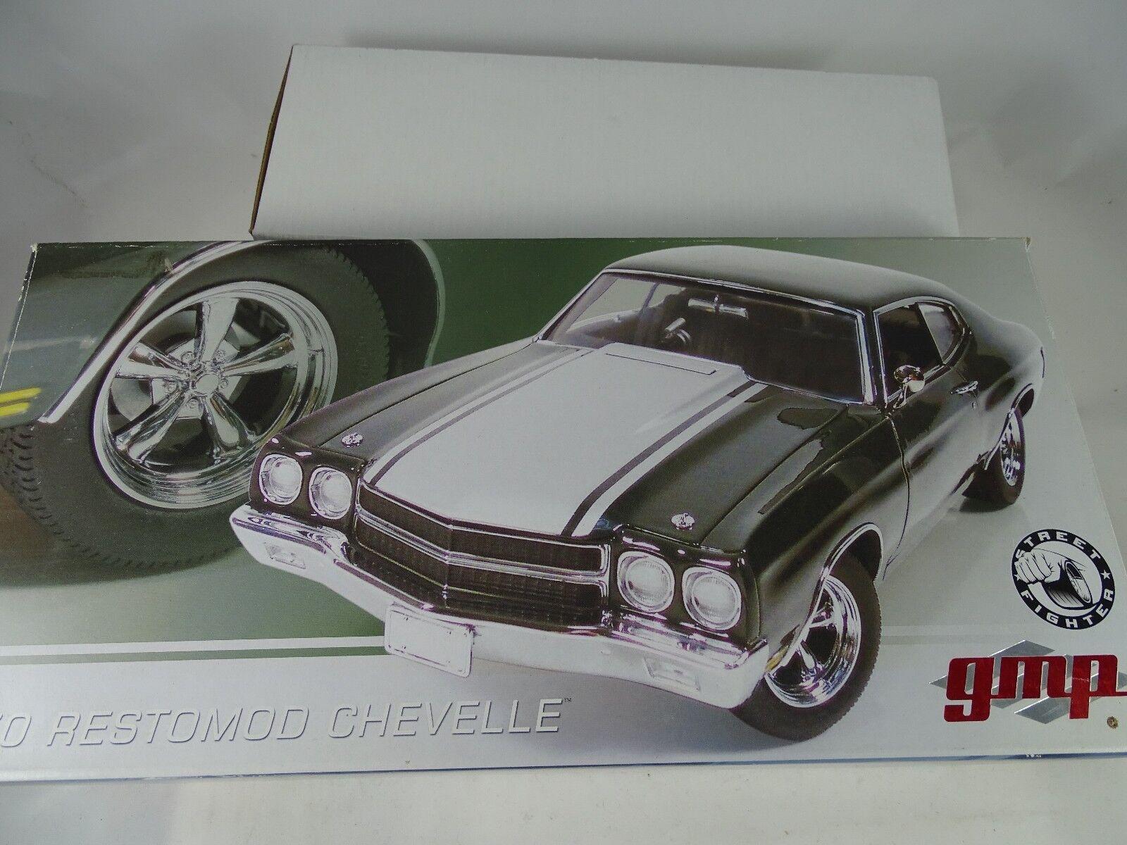 1:18 GMP  g1804301 1970 restomod Chevelle verde Lmtd. ed. 1/1000 - rarità §