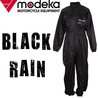 Modeka Black Rain Regenkombi 1 Teiler XXXL Schwarz