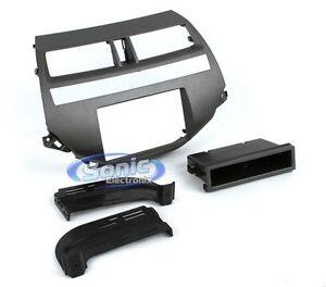 Scosche-HA1707DCDGB-Single-Double-DIN-Install-Dash-Kit-for-2008-Up-Honda-Accord