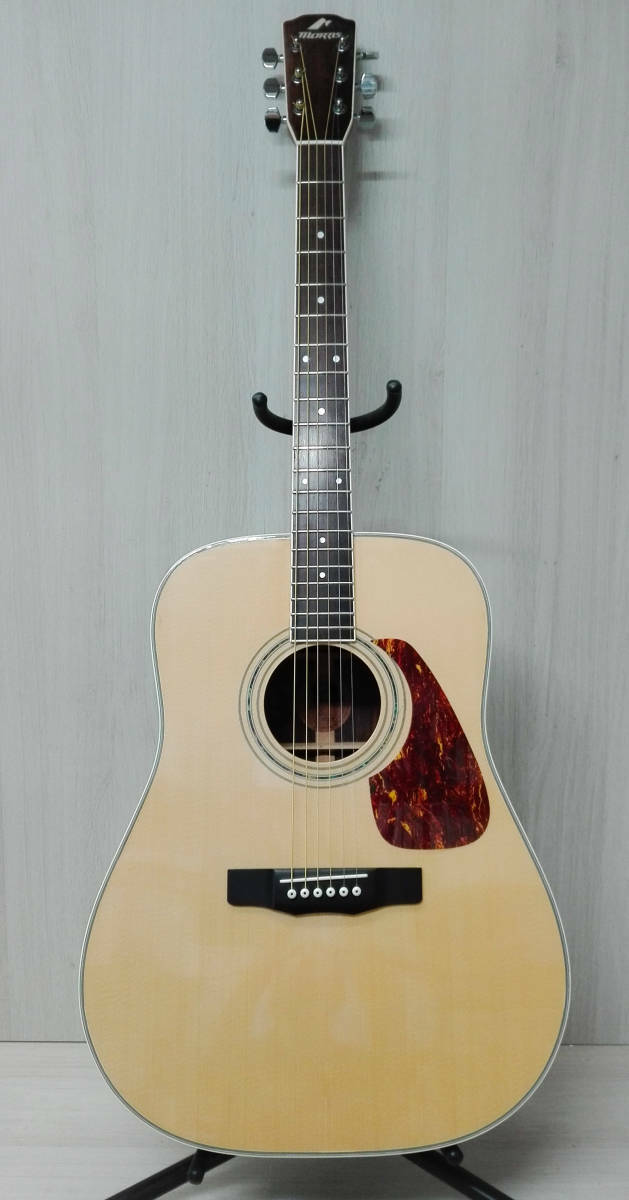 Morris Maurice M-501 with acoustic guitar soft case rare beutiful JAPAN EMS F S