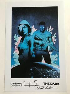 Nycc-2019-Excelente-The-Dark-Poster-Impresion-Firmado-Marca-Sable-amp-Kristian