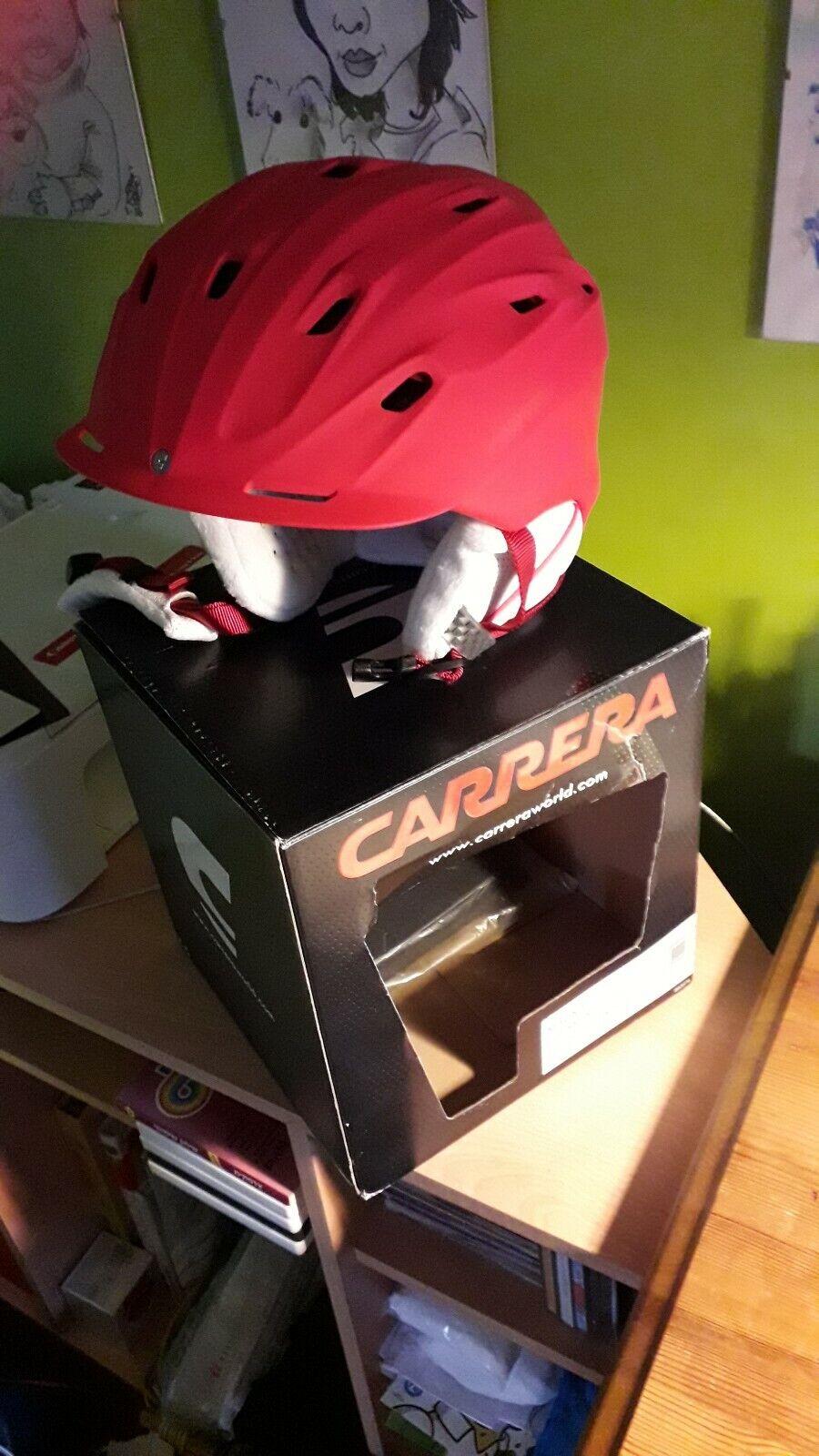 Carrera Mauna Ski Ladies Helmet Size XXS XS 51-55cm Berry Matte New RRP .99
