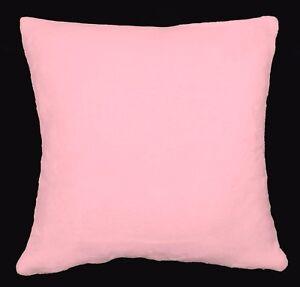Fh212a Plain Red Soft Faux Mink Fur Cushion Cover//Pillow Case*Custom Size