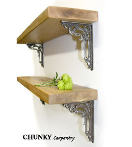 Image Is Loading Wall Book Shelf Rustic Wood Wooden Victorian Flower