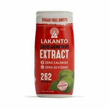 Lakanto Liquid Monkfruit Sweetener Zero Calories Original Flavor