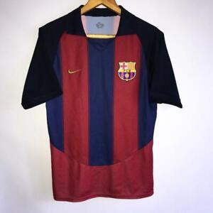 af68b3a6875 Image is loading RARE-VINTAGE-BARCELONA-HOME-2003-04-ORIGINAL-FOOTBALL-