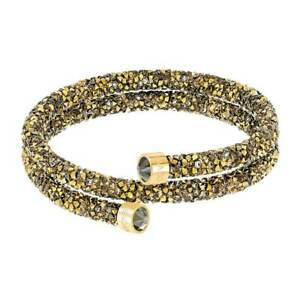 Swarovski-Women-039-s-Bracelet-Crystaldust-Multicolored-Double-Wrap-Medium-5348103