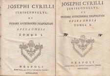 JOSEPHI CYRILLI OPERA OMNIA INSTITUTIONES JURIS CIVILIS INSTITUTIONES CANONICAE