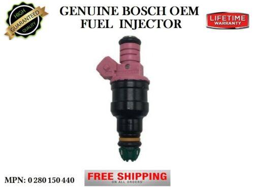 Part#0280150440 OEM Bosch Re-man Single Fuel Injector 1997-2000 BMW Z3 2.8L I6