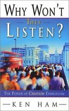 Why Won't They Listen? - Ken Ham - PB  Creation Anwers in Genesis Christian ED