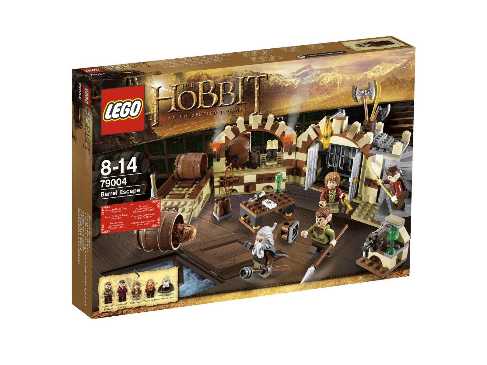 LEGO Hobbit 79004 la grande fuga Barrel Escape