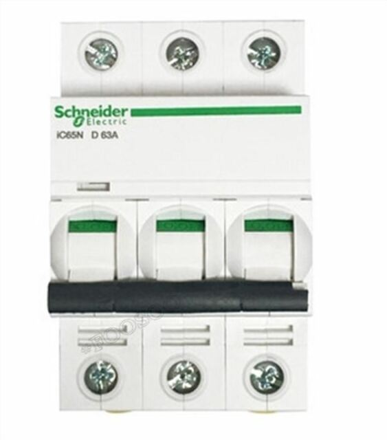 Schneider Small IC65N 3P D4A Air Circuit Breaker Switch New ar