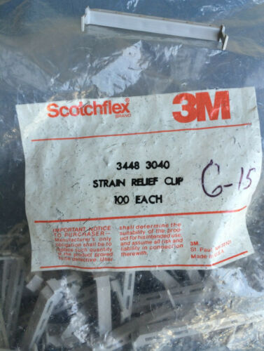 3448-3040 3M STRAIN RELIEF 40 POSITION CONT SOCK CONN POLYESTER GRAY