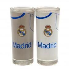 Real Madrid F.C. 2pk Conjunto de vidrio de alta bola