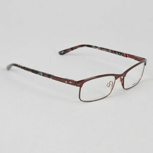 3fa00dc7324 Image is loading Oakley-Eyeglasses-Taxed-Cabernet-OX3182-0349-Authentic-New-