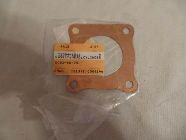 NOS NEW FACTORY KAWASAKI KDX250 KX250 CYLINDER HEAD GASKET 11004-1012