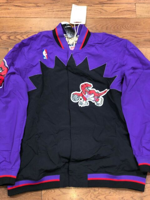 Mitchell /& Ness Toronto Raptors Warm Up Jacket