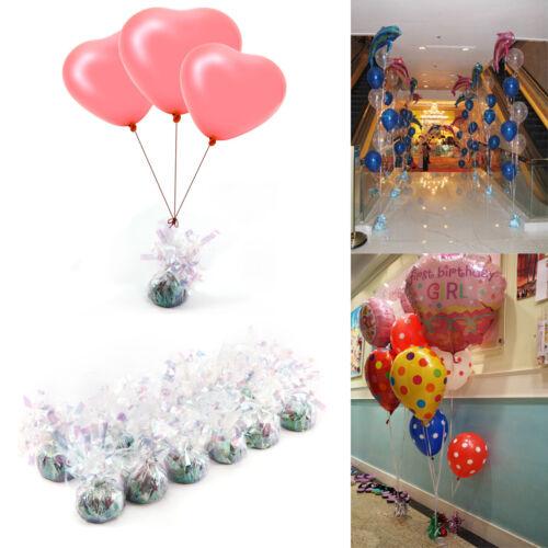 12x Helium Balloon Weights Wedding Girls Birthday Party Baby Shower Decorations